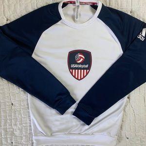 USA Volleyball Long Sleeve Shirt   Adidas Shirt